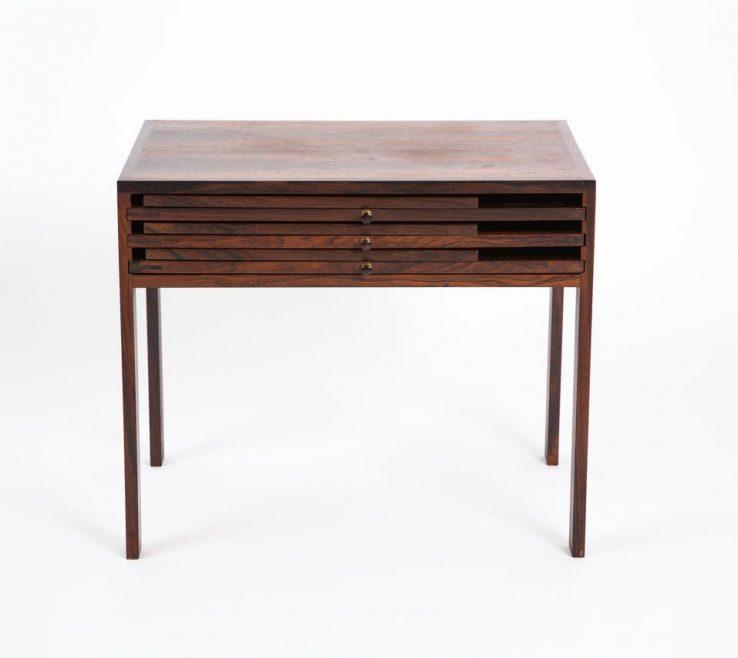 Vanity Designer Folding Tables Of Danish Illum Wikkelsø Made This Side Table