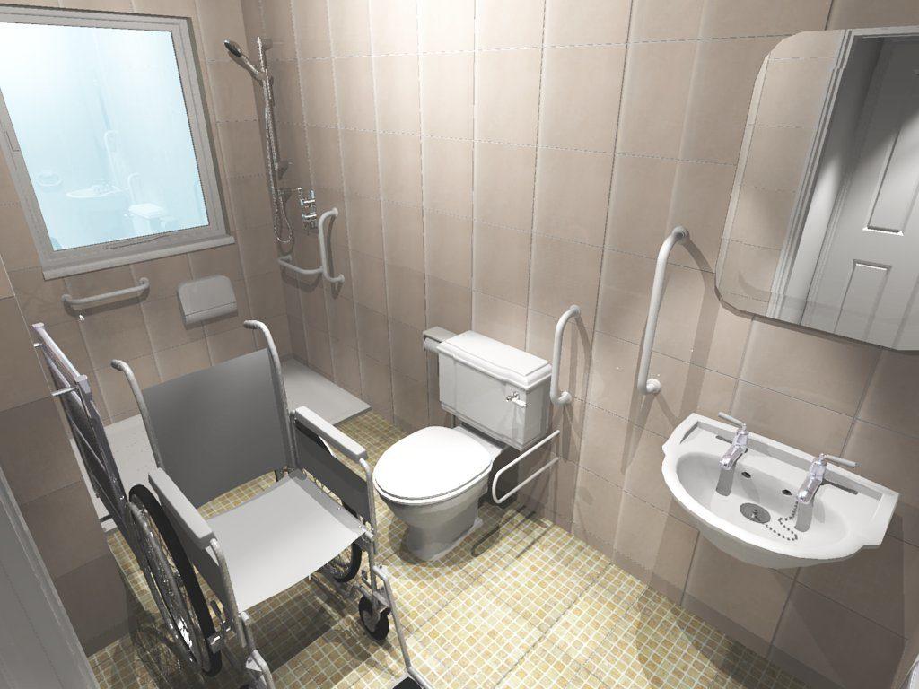 Vanity Handicap Accessible Bathroom Design Ideas Of Bedroom ...