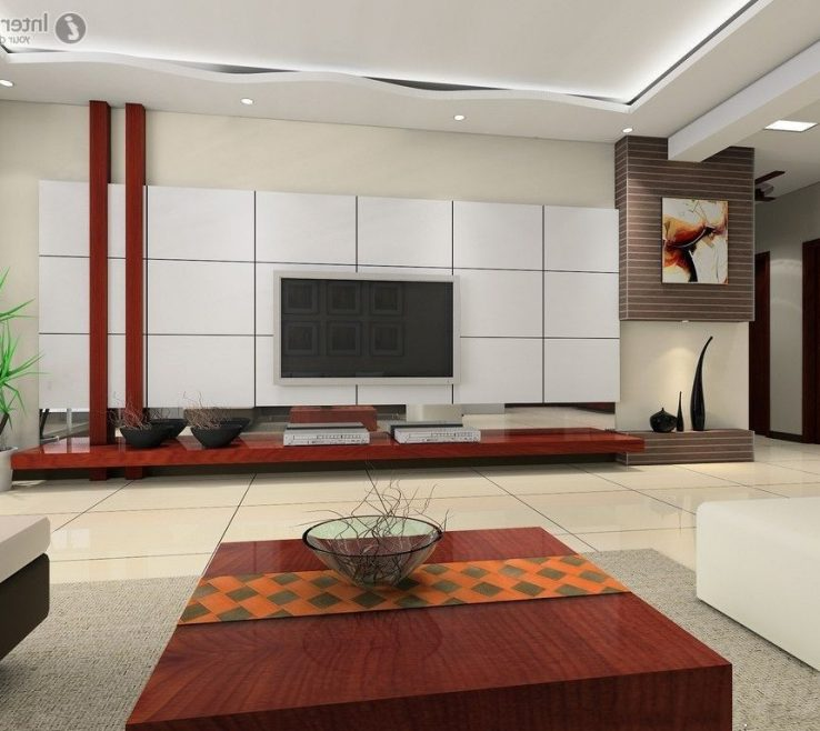 Vanity Wall Tiles Design For Living Room Of Cool On Interior