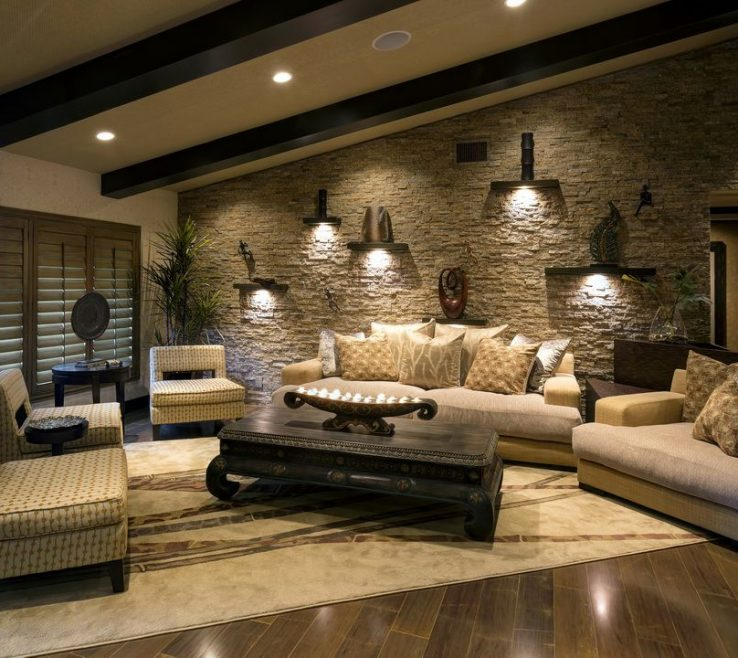 Wall Tiles Design For Living Room Of Decorating A That Has Slate Floor |
