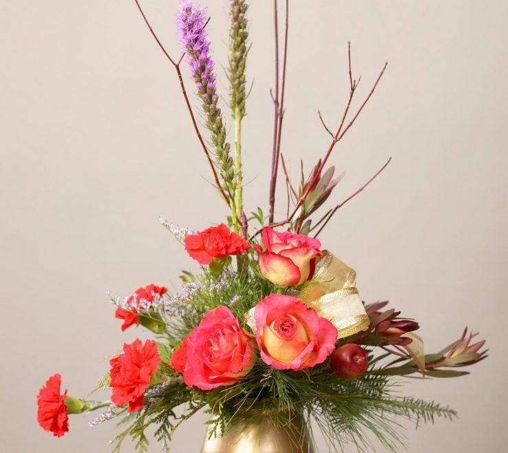 Wonderful Bedroom Flower Arrangements Of Formal Arrangement