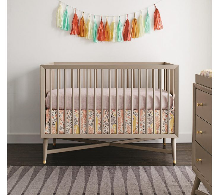 Wonderful Mid Century Modern Baby Crib Of Mid Century