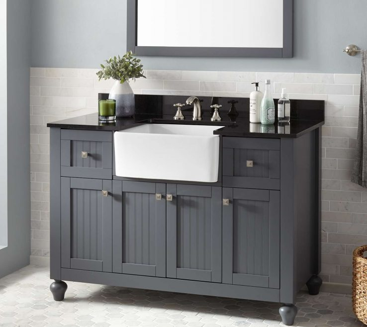 Wonderful Space Saving Vanity Of This Style Of Features Bination