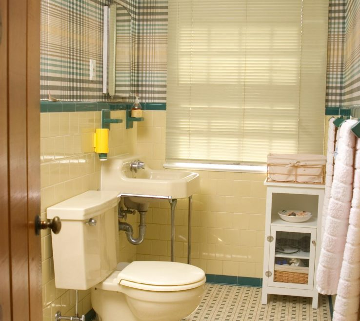 Yellow Bathrooms Of Redecorating A S Bathroom