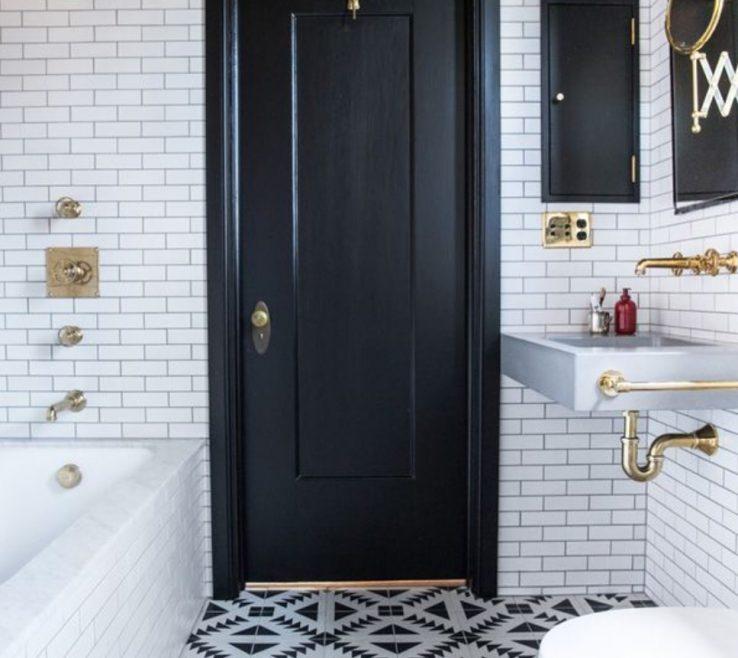 Adorable Black Interior Doors Of Make Ceilings Look Taller Photo