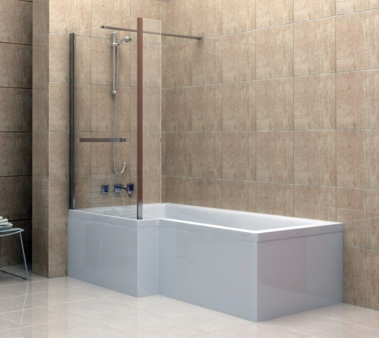 Adorable Contemporary Tub Binations Of Awesome Bo For Your Bathroom Tud