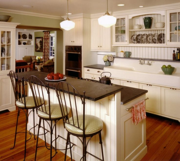 Adorable Cottage Paint Color Schemes Of Country Kitchen Colors