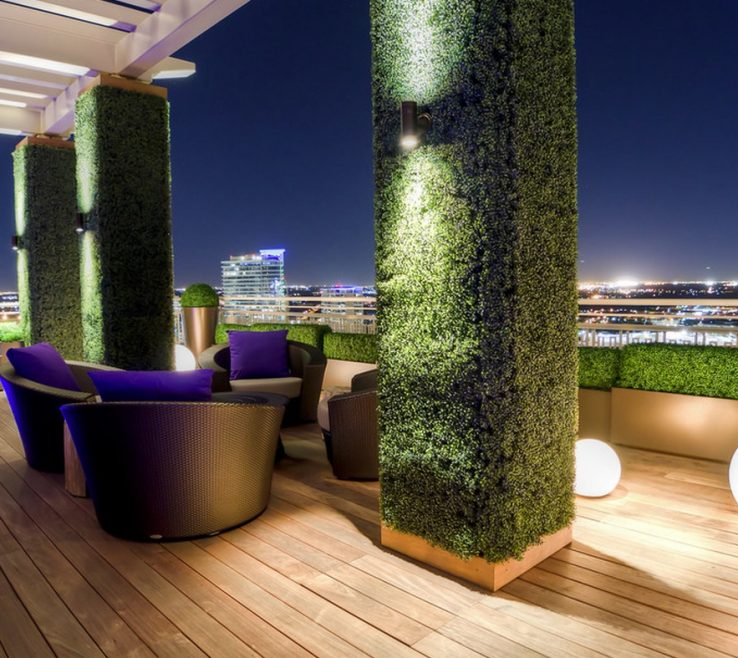 Adorable Interior Column Designs Of Ideas Exterior Grass Covered