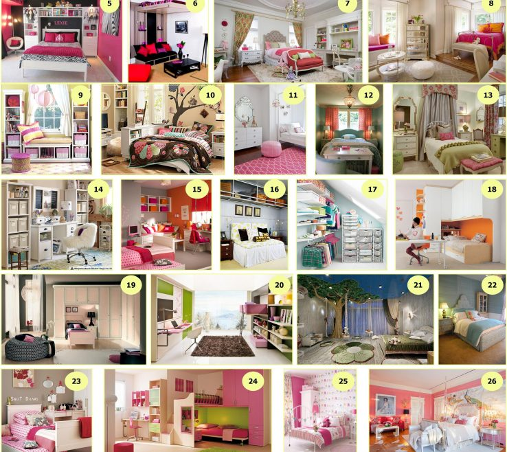Adorable Paint Colors For Teenage Girl Room Of 30 Girls Bedrooms Ideas