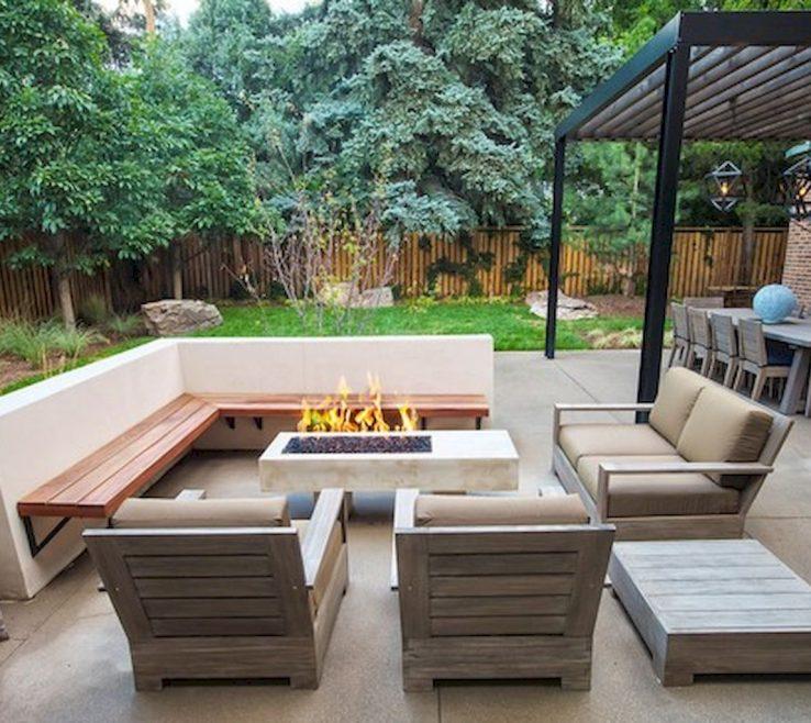 Adorable Small Seating Area Of Backyard Sitting Ideas Cozy Backyard Ideas (12)