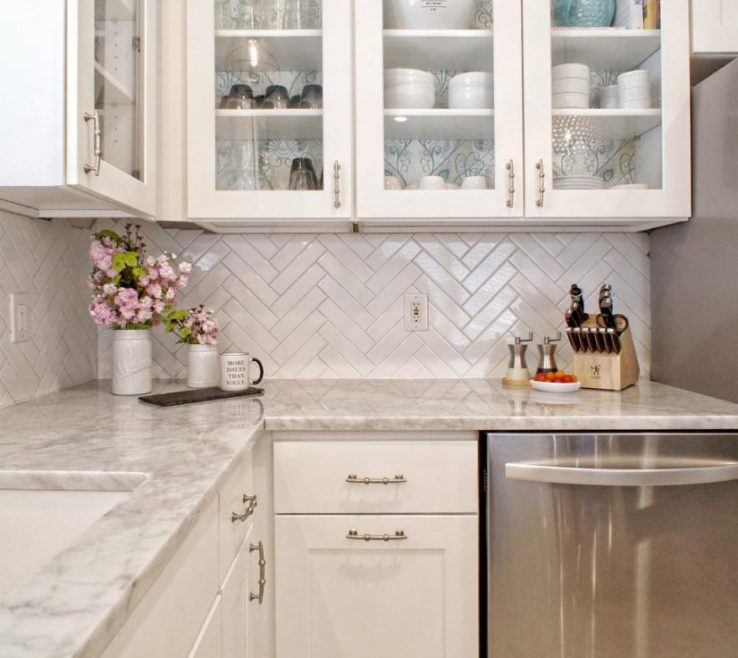 Adorable Wallpaper Designs For Kitchen 82 Important Backsplash Ideas Modern White