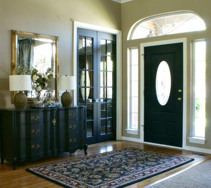 Alluring Black Interior Doors