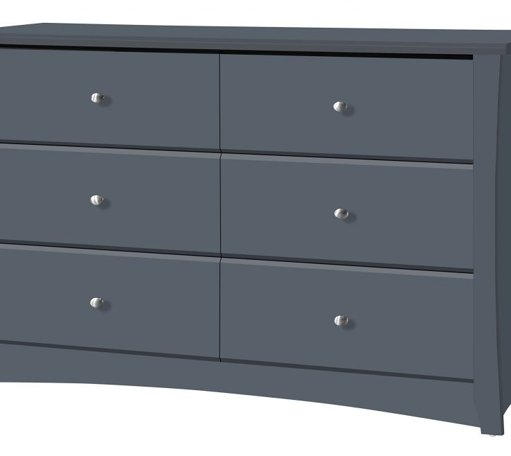 Alluring Chest Of Drawers For Nursery Of Storkcraft Crescent Drawer Dresser Grey Kids