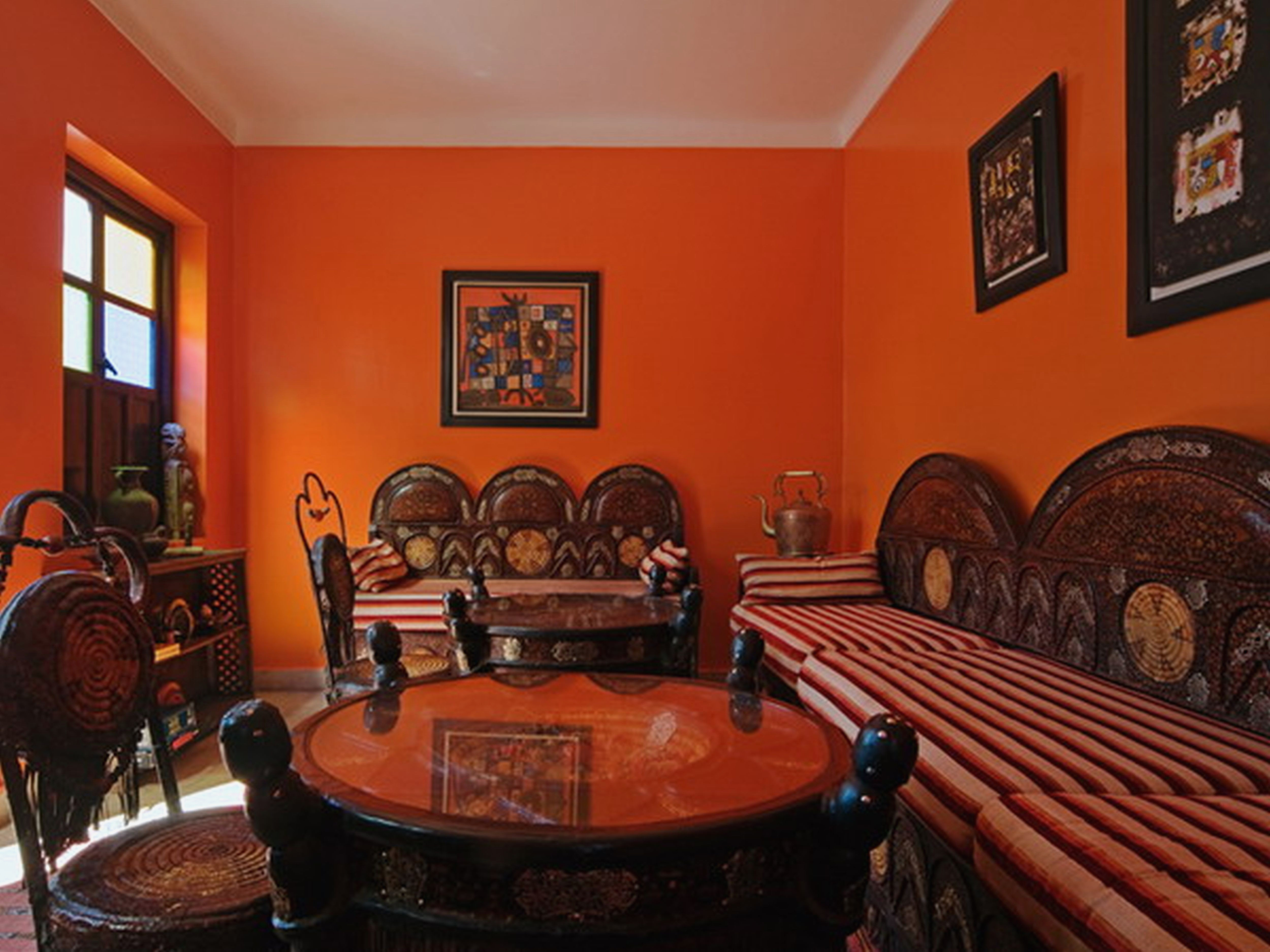 Alluring Curtains With Orange Walls Of Curtain:amazing What Color Go Nice Home