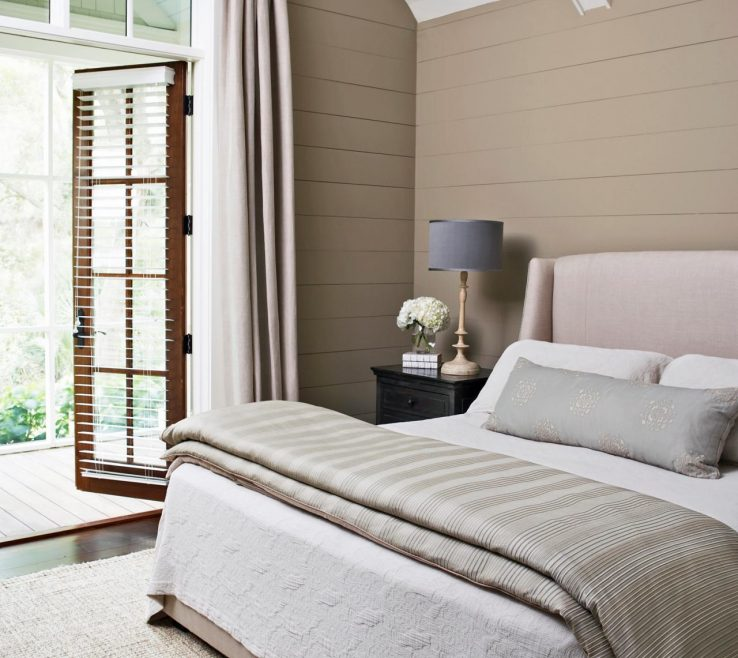 Alluring Furniture Ideas For Small Bedroom Of Neutral With French Door