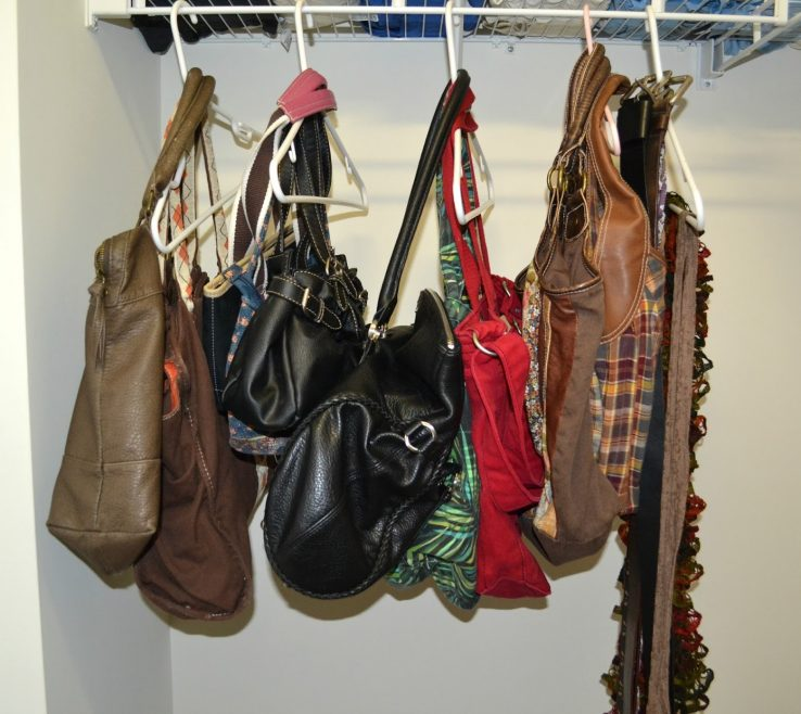 Alluring How To Organize Pocketbooks Of My Purses, Scarves And Belts