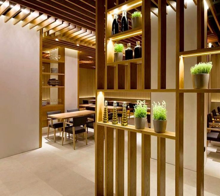 Alluring Interior Partition Wall Ideas Of From Bamboo, To Rope, To Perforated Metal