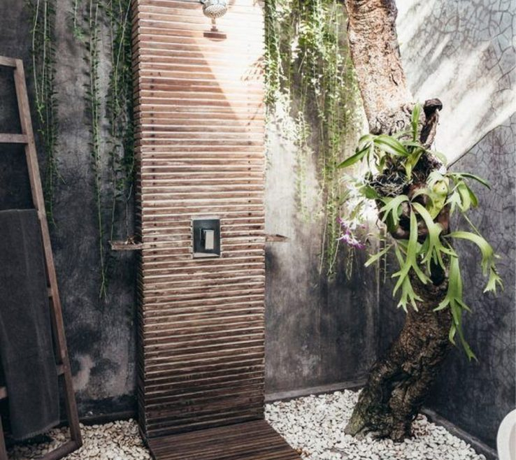 Alluring Outdoor Shower Floor Ideas Of 51 Affordable For Your Backyard Homedecorizzreview