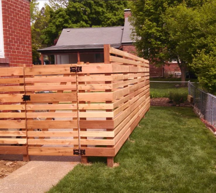 Alluring Wood Fence Designs Of For Your Yard