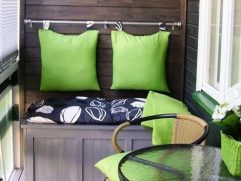 Apartment Balcony Furniture Ideas