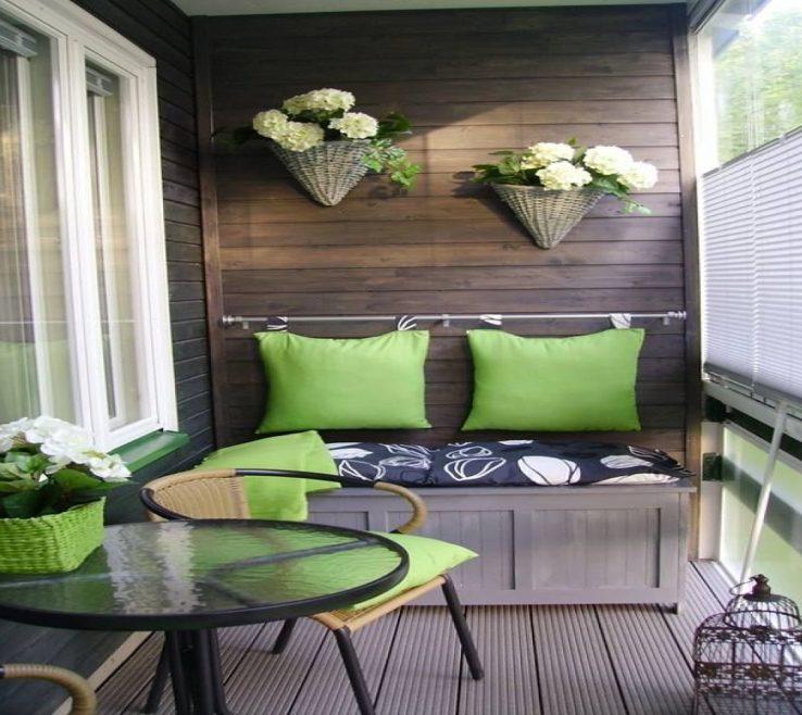 Amazing Balcony Ideas Of Cute Apartment