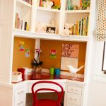Amazing Built In Desk Ideas For Small Spaces Of Built In Corner Good Space Saver