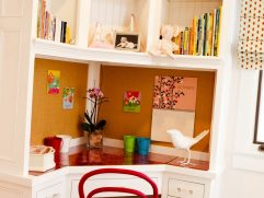 Built In Desk Ideas For Small Spaces