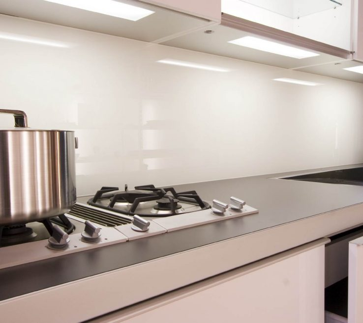 Amazing Designer Kitchen Backsplash Of Delighful Modern With White Cabis Ideas