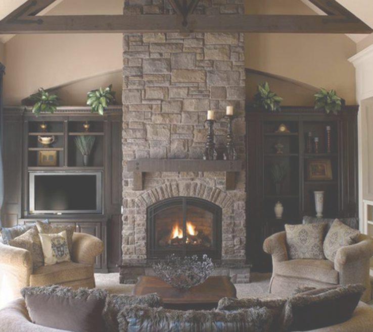 Amazing Family Rooms With Fireplaces Of Living Room : 15 Room Fireplace Decorating