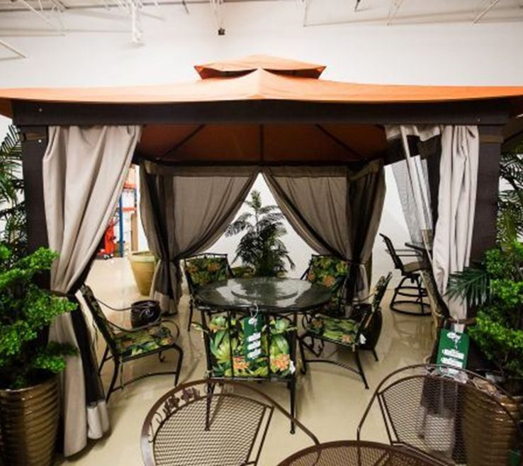 Amazing Furniture For Gazebo Of Picture Of Refurbished