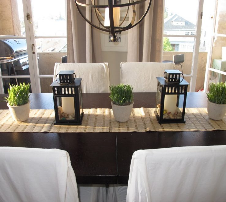 Amazing Modern Dining Table Centerpieces Of Decoration Themes Eduexplica Home With Centerpiece