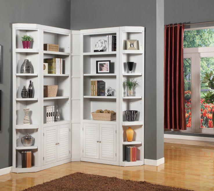 Amazing Shelving Units For Living Room Of Livingroom Corner Shelf Storage Ivar Glass Modern