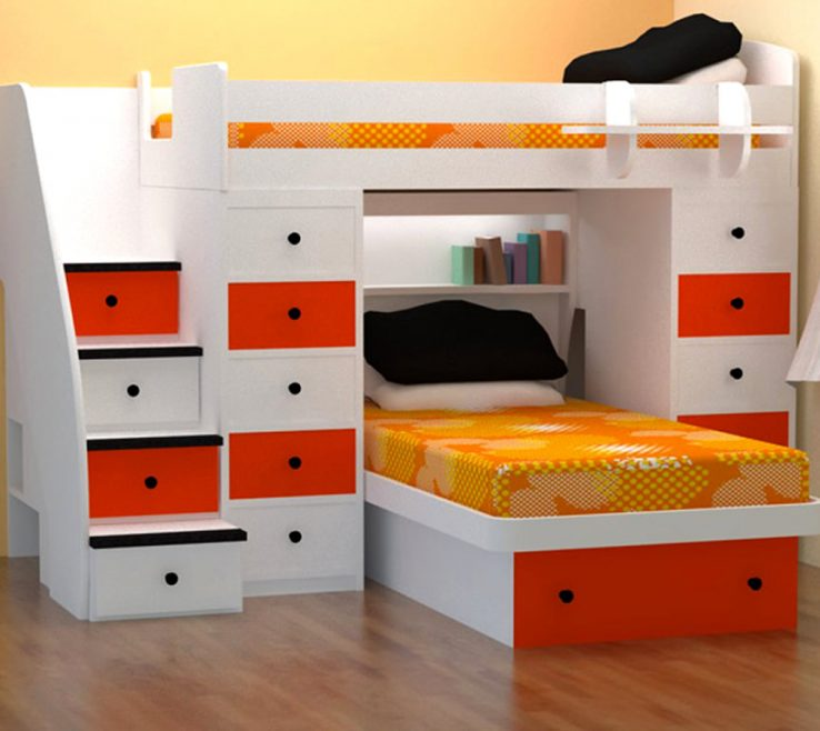 Amazing Space Saving Storage Beds Of Saver Bed With White Red Bine