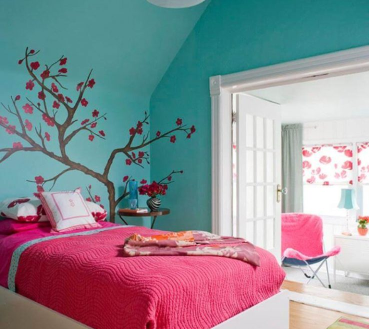 Amazing Turquoise Blue Bedroom Designs Of Accessories