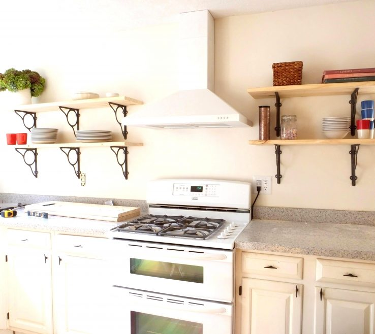 Amazing Wall Mounted Kitchen Shelves Of Incredible Bination Storage Ideas D Metal
