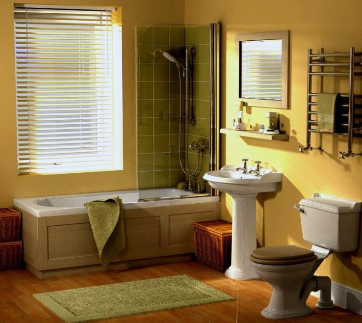 Amazing Yellow Bathroom Paint Ideas Of [bathroom Interior] Brown Yellow. Color New