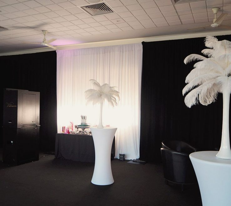 Artistic Black And White Decorating Ideas For A Party Of Theme