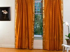 Curtains With Orange Walls