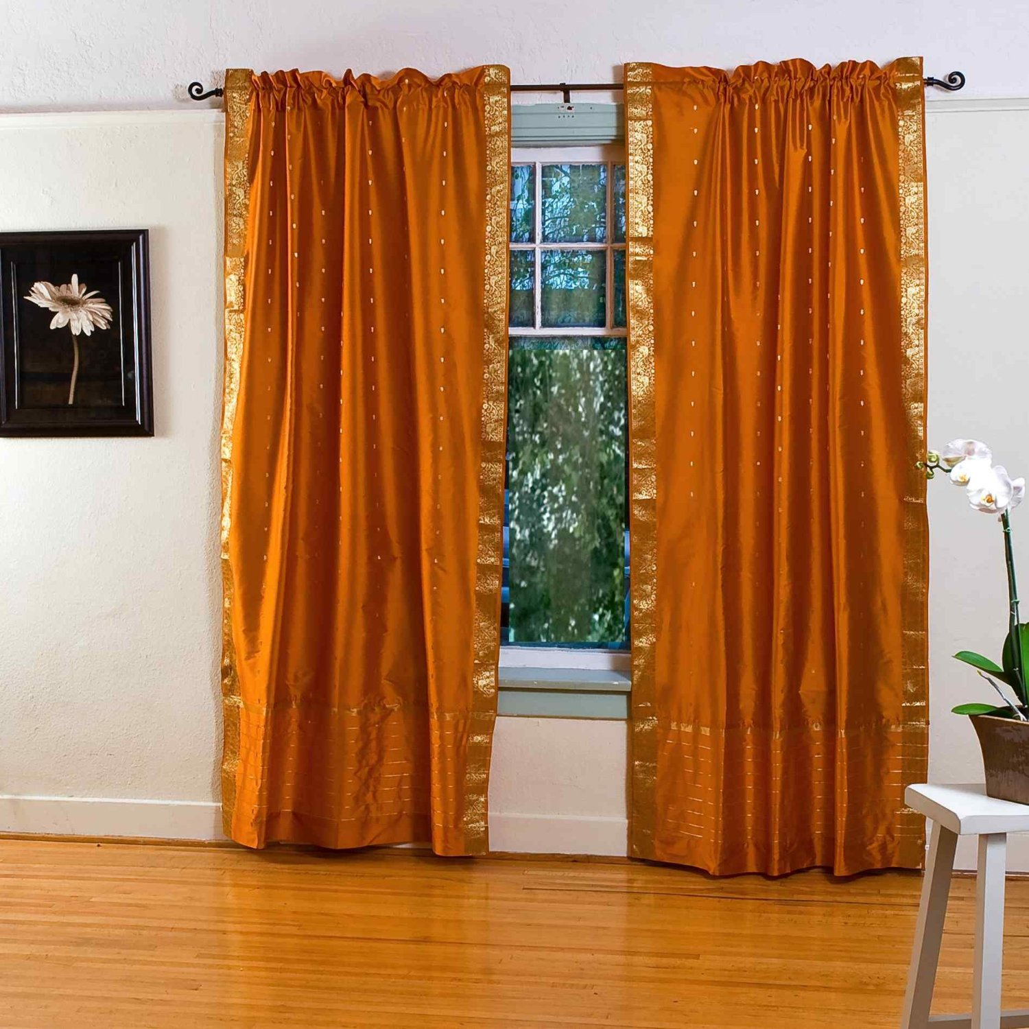 Artistic Curtains With Orange Walls Of Full Size Of Modern Kitchen:decorating Kitchen Decorations