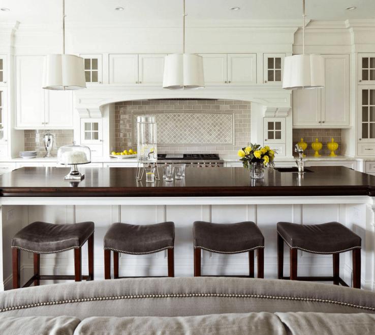 Artistic Designer Kitchen Backsplash