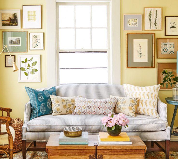 Artistic Modern Decorating Living Room