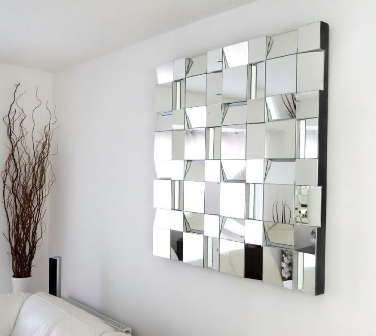 Artistic Modern Wall Decoration Ideas Of Contemporary Large Decorative Mirrors For Decor
