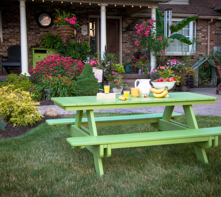 Artistic Outdoor Garden Structures Of Amish Country Originals Furniture Bar, Benches