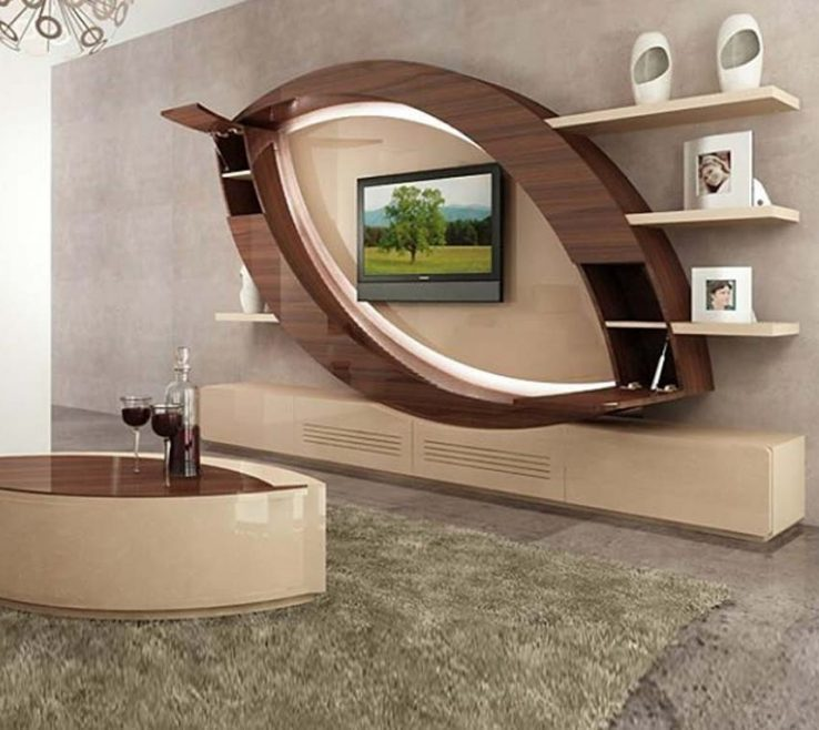 Artistic Wall Units Designs For Living Room 40 Modern Tv S Tv 2019