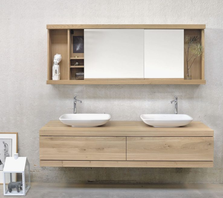 Astonishing Modern Bathroom Walls Of Wall Storage S Double Washbasin Wall