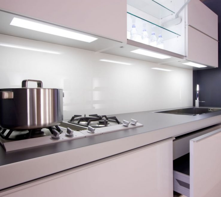 Astonishing Printed Glass Backsplash Of Back Painted Kitchen Backpainted Kitchen Backsplash.