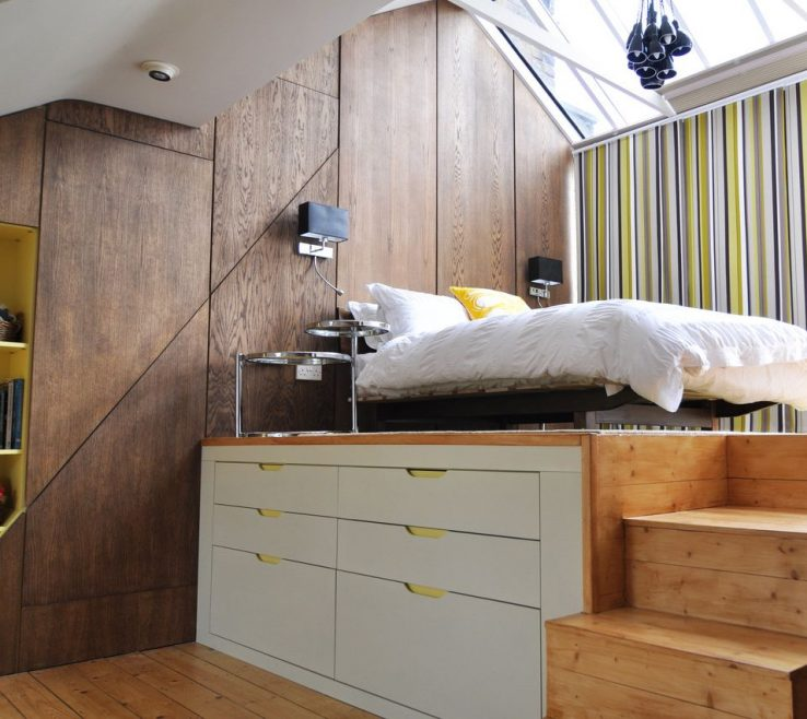 Astonishing Space Saving Storage Beds Of Vintage Wooden Saver Bed With Stairs
