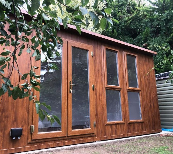 Astonishing Summer E Garden Room Of Rooms Offices E Fully Insulated Pre Fabricated