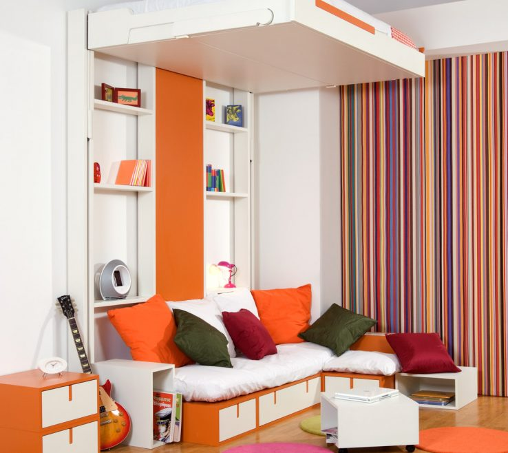 Astounding Beds For Small Spaces Of 10 Great Space Saving