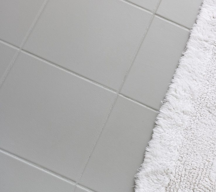 Astounding Ceramic Tile Flooring Pictures Of Ugly Floor Painted With Gray Floor &
